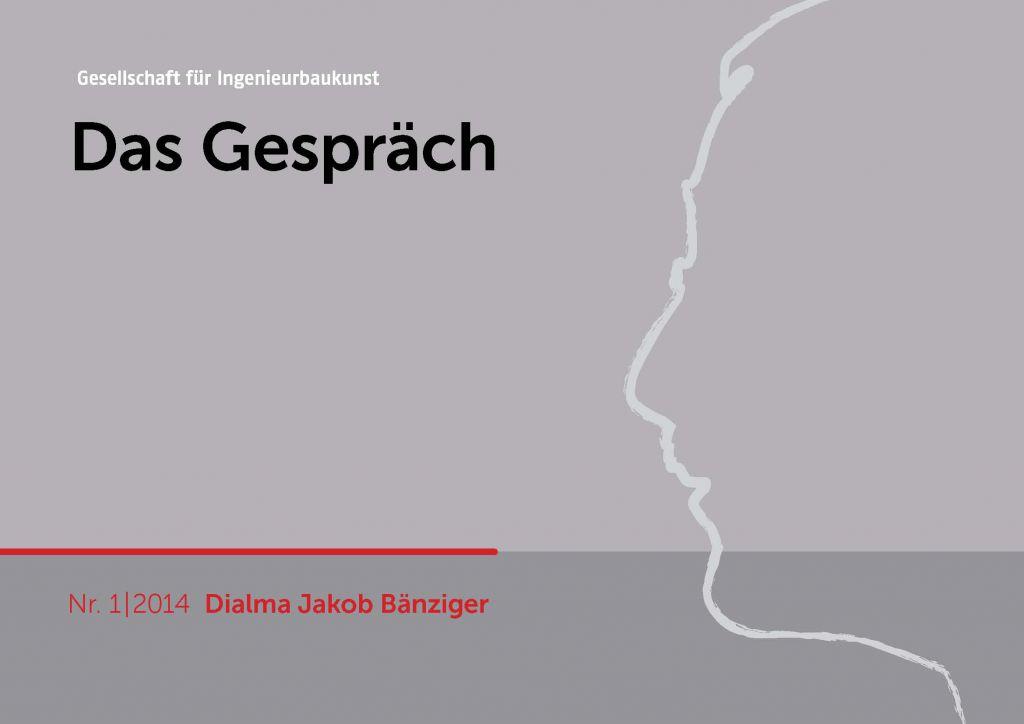 Frontseite Gespräch 1-2014